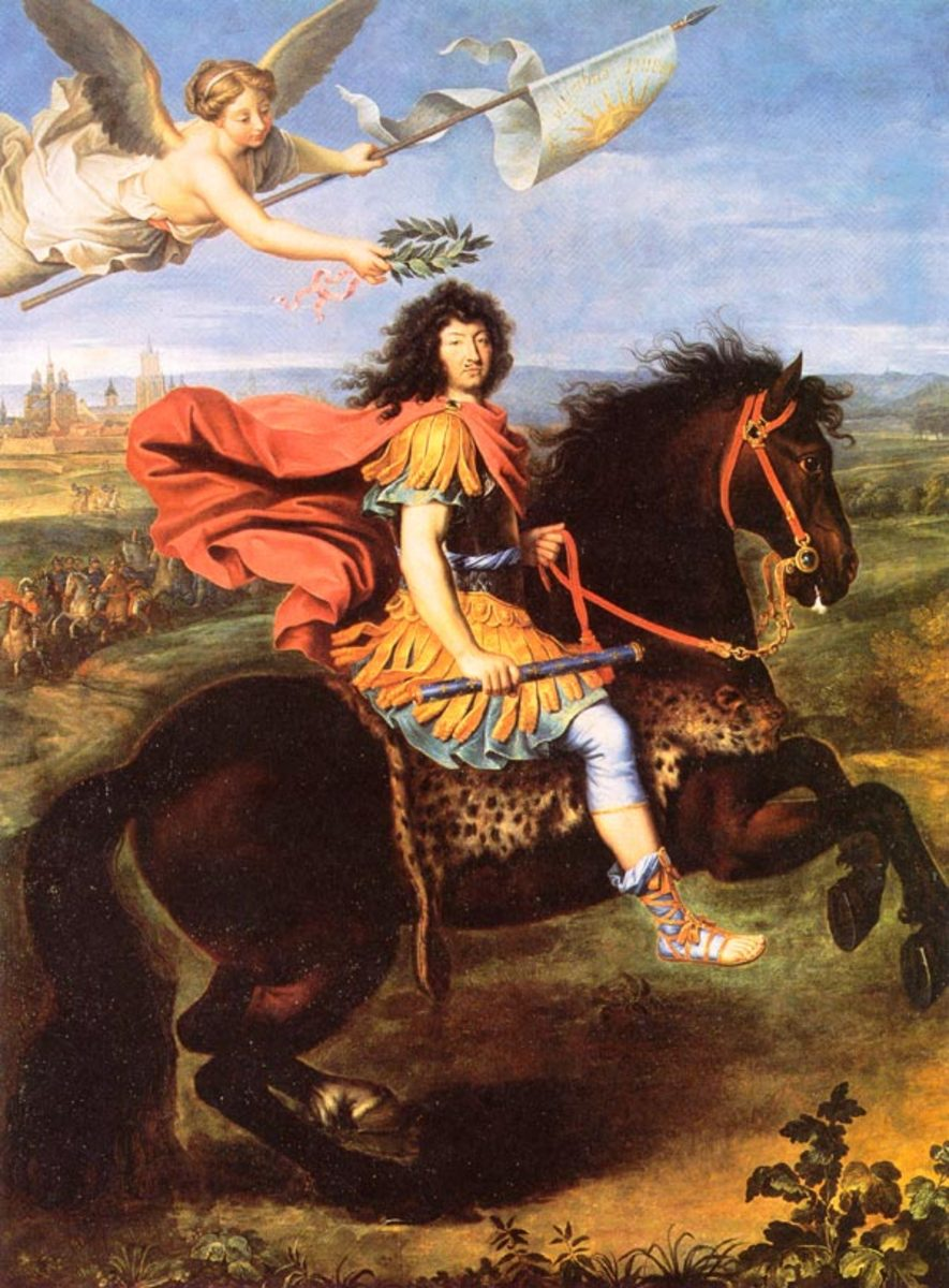 Louis XIV in the Siege of Maastricht 1673