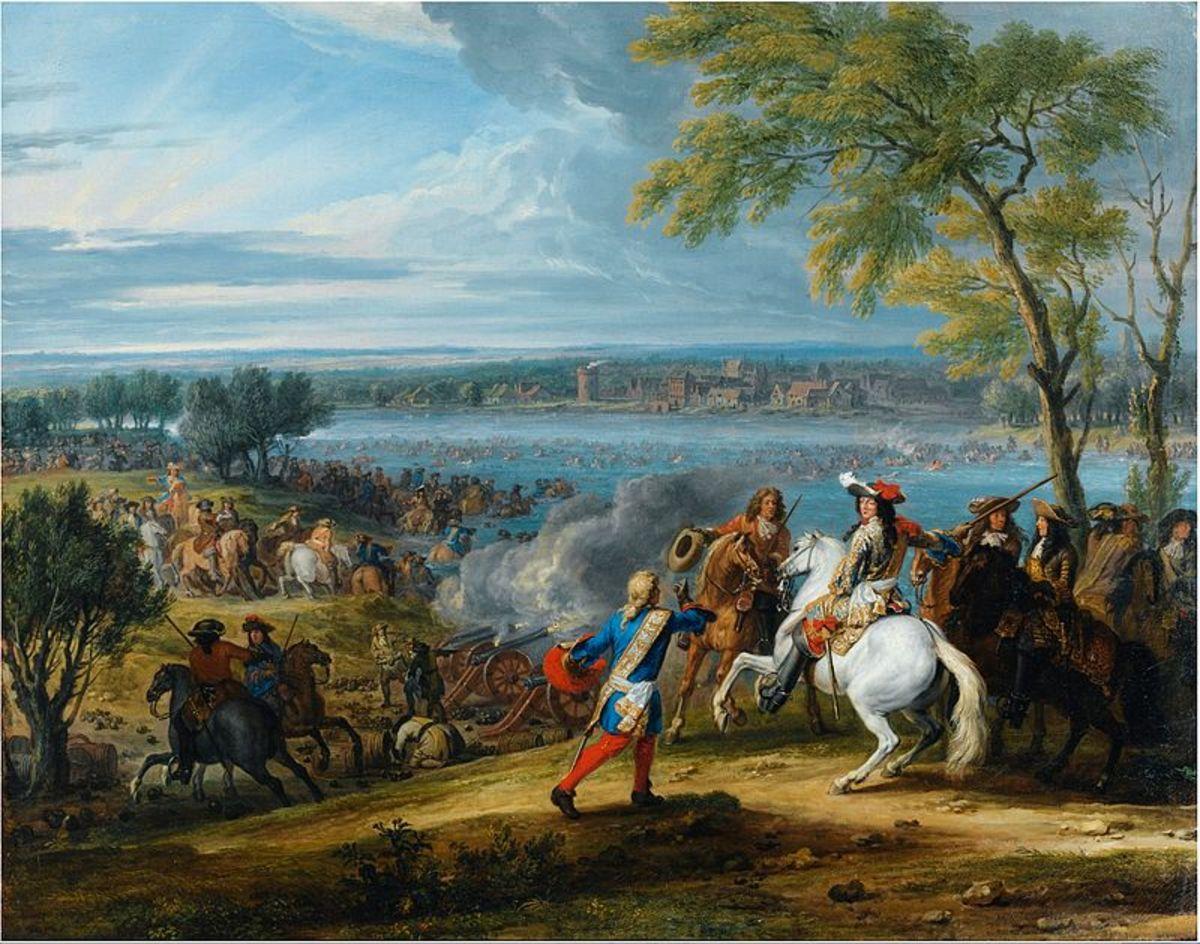 Crossing of the Rhine 1672