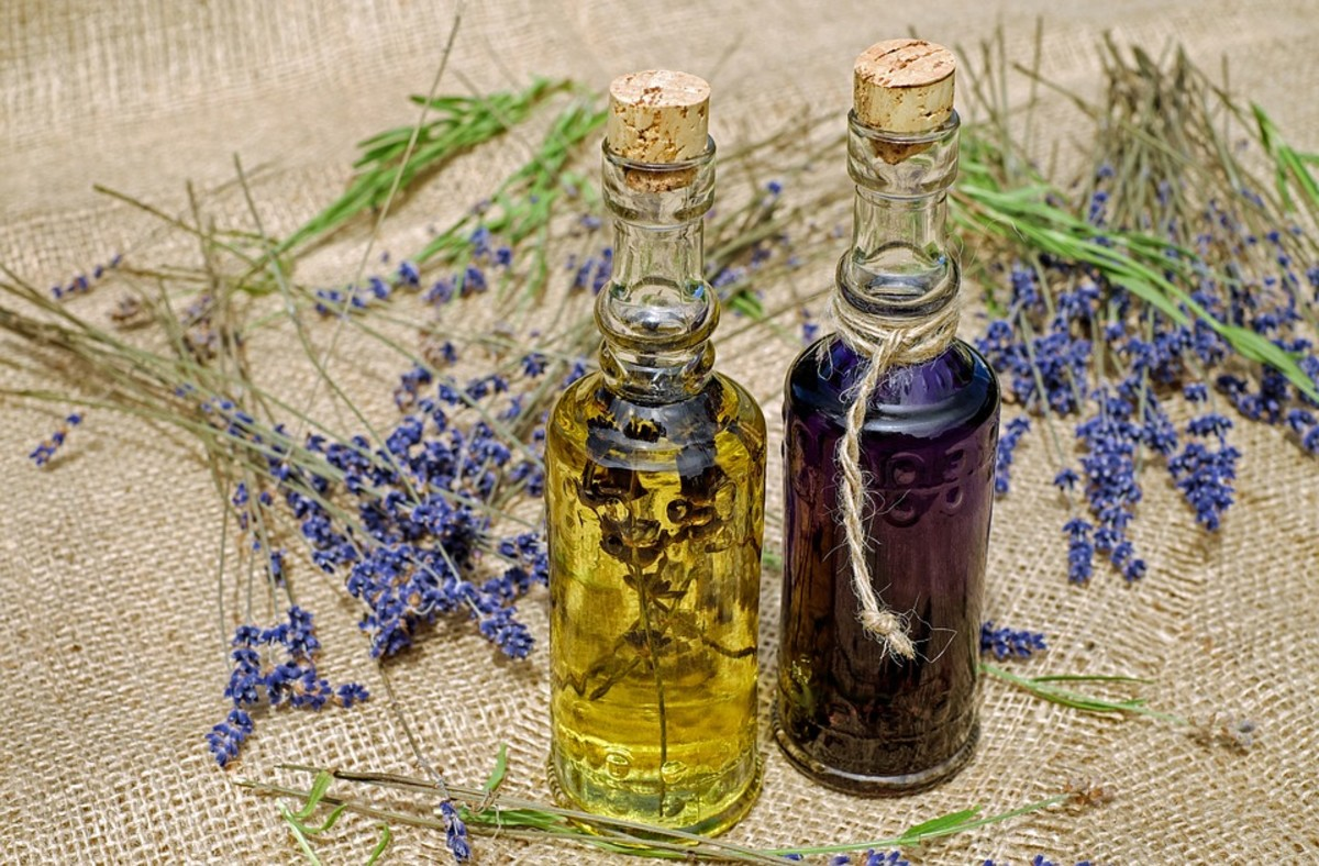 Herb Infused Anointing Oils