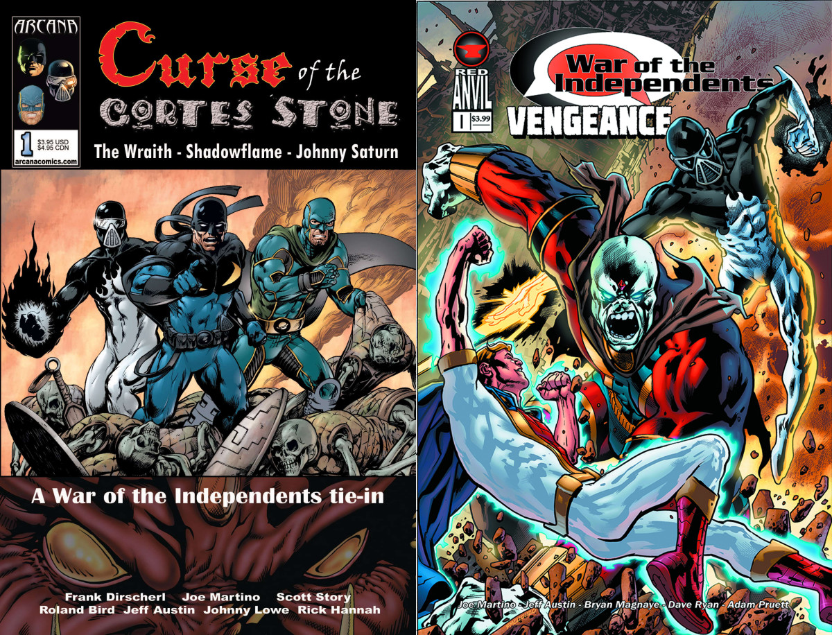 War of the Independents tie-in comics