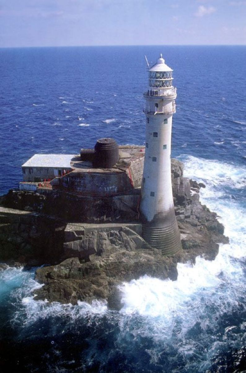 Fastnet, like all Irish lighthouses is now fully automated.