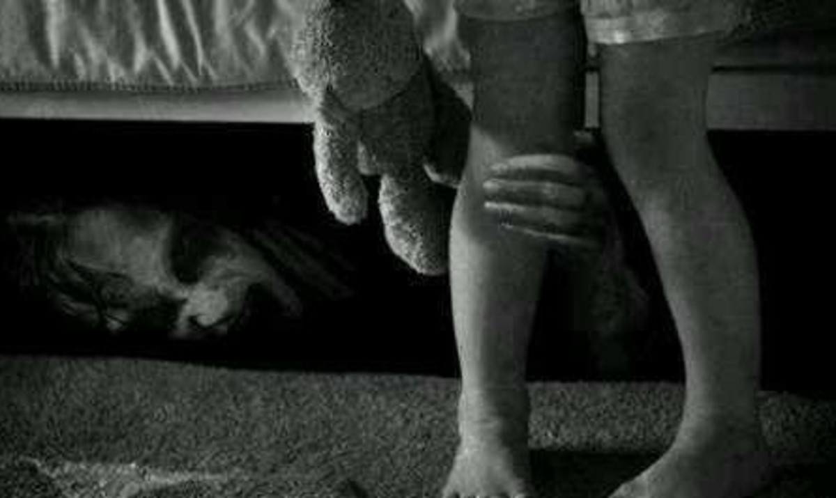 Humans Are The Real Monsters Under Your Bed
