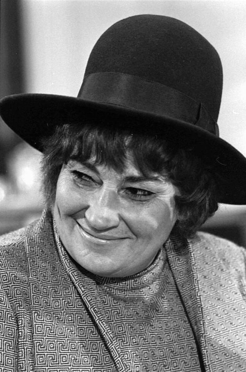Bulla Abzug, champion of women's rights.