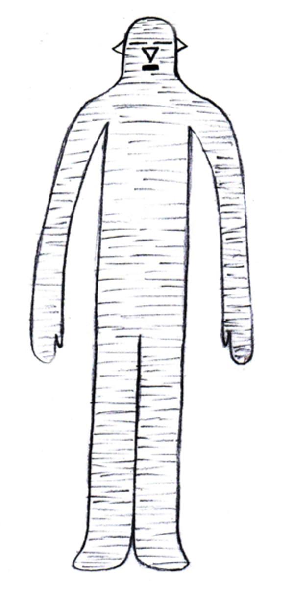 Mummy Like Alien - Sketch