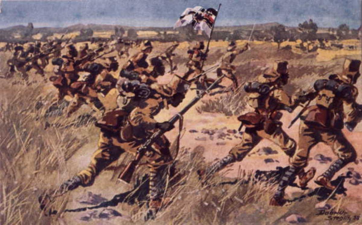 German East Africa Askari Soldiers