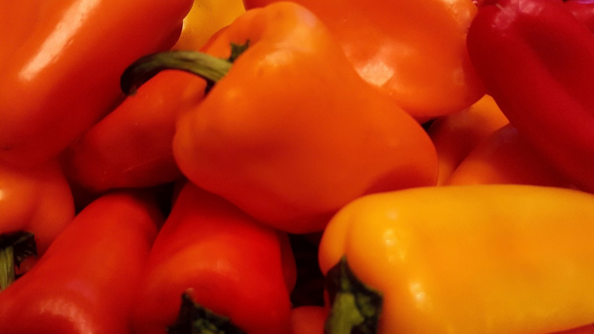 Orange & Yellow Bell Peppers