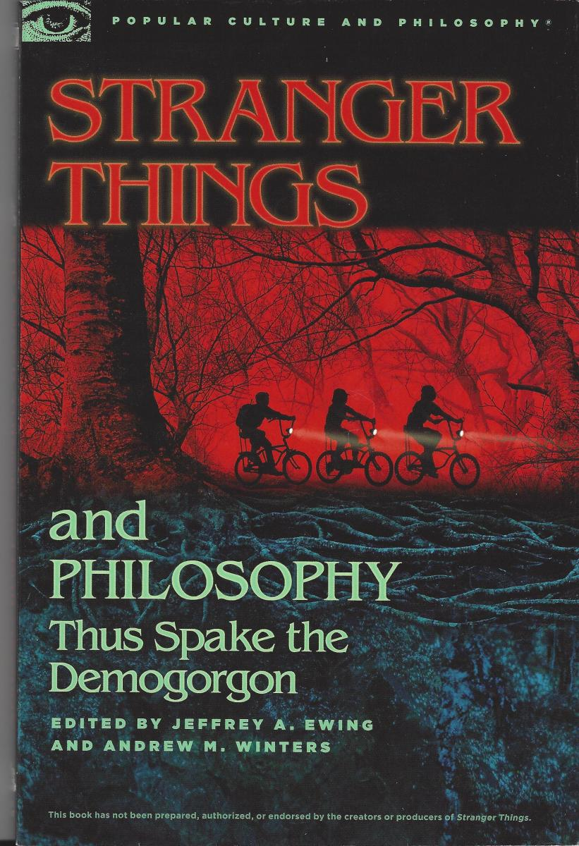 "The Cover of ""Stranger Things and Philosophy"""