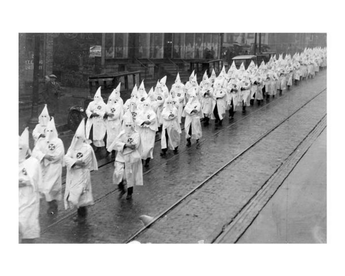 KKK rally 1920