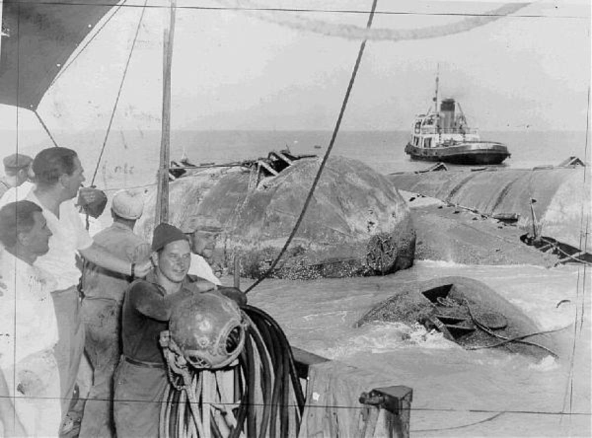 Sinking of the SS Ramdas