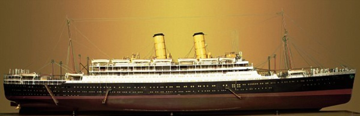 Model of the SS Hong Moh