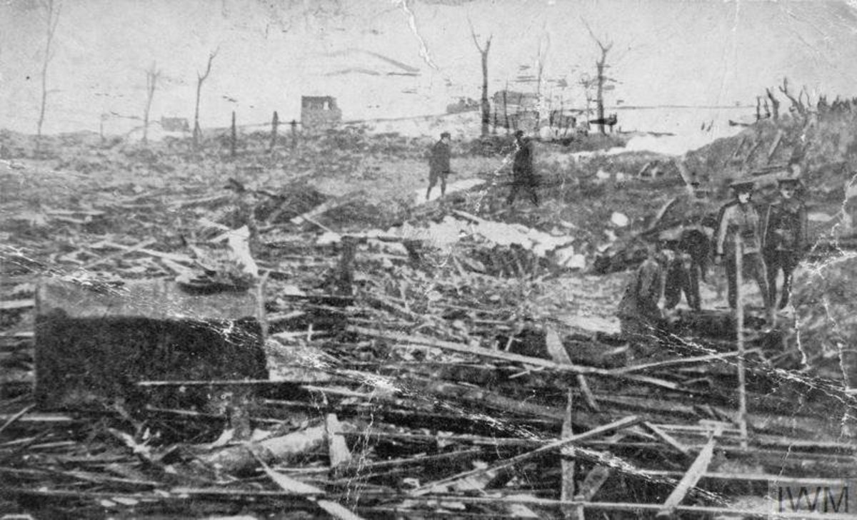 Aftermath of the SS Mont-Blanc disaster