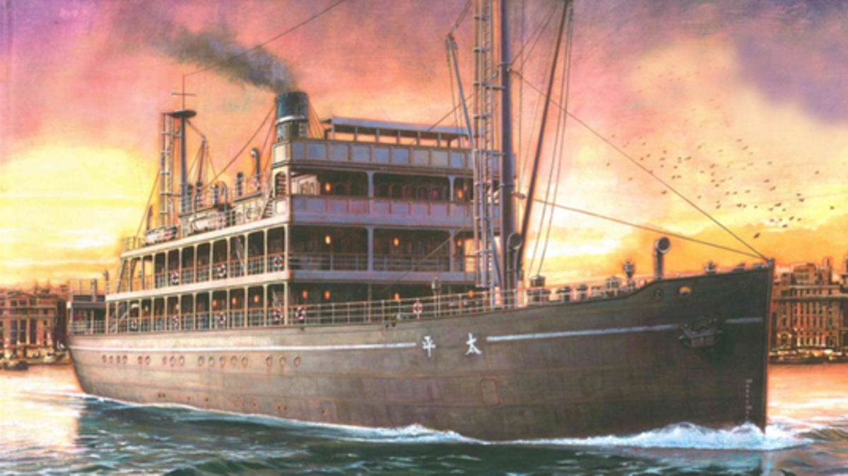 Painting of the Taiping Steamer