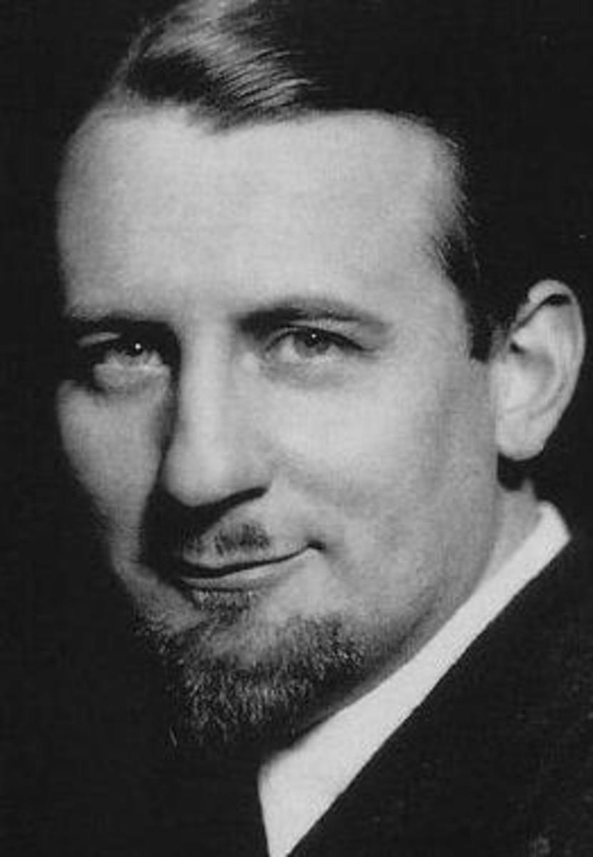 Peter Warlock in 1924.