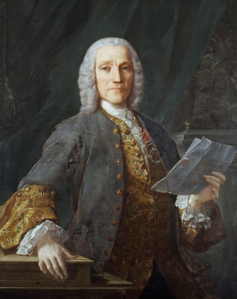 Portrait of Scarlatti by Velasco, 1738.