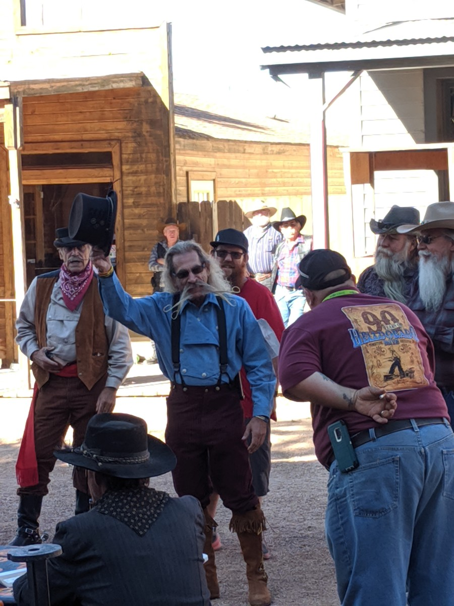 Celebrating Helldorado Days in Tombstone Arizona