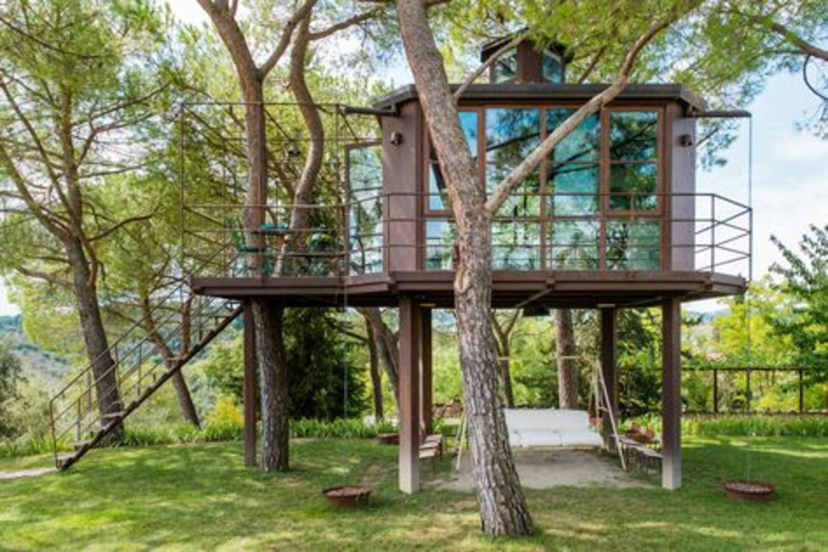 Ever Fancied Sleeping in a Tree House? (take 2)