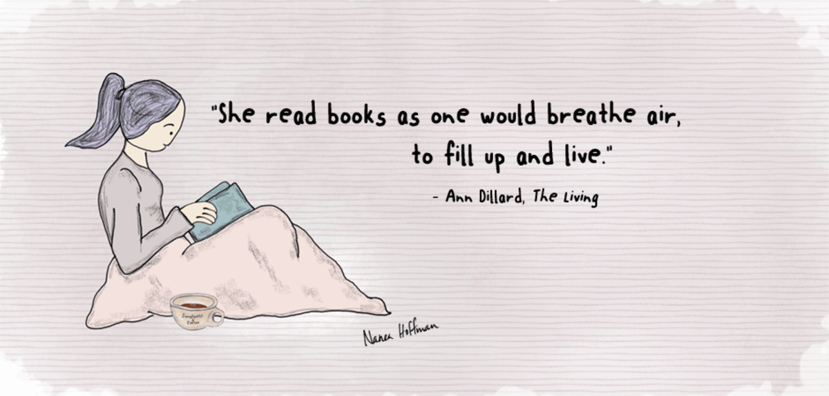 5 Beloved Fictional Bookworms in Fiction