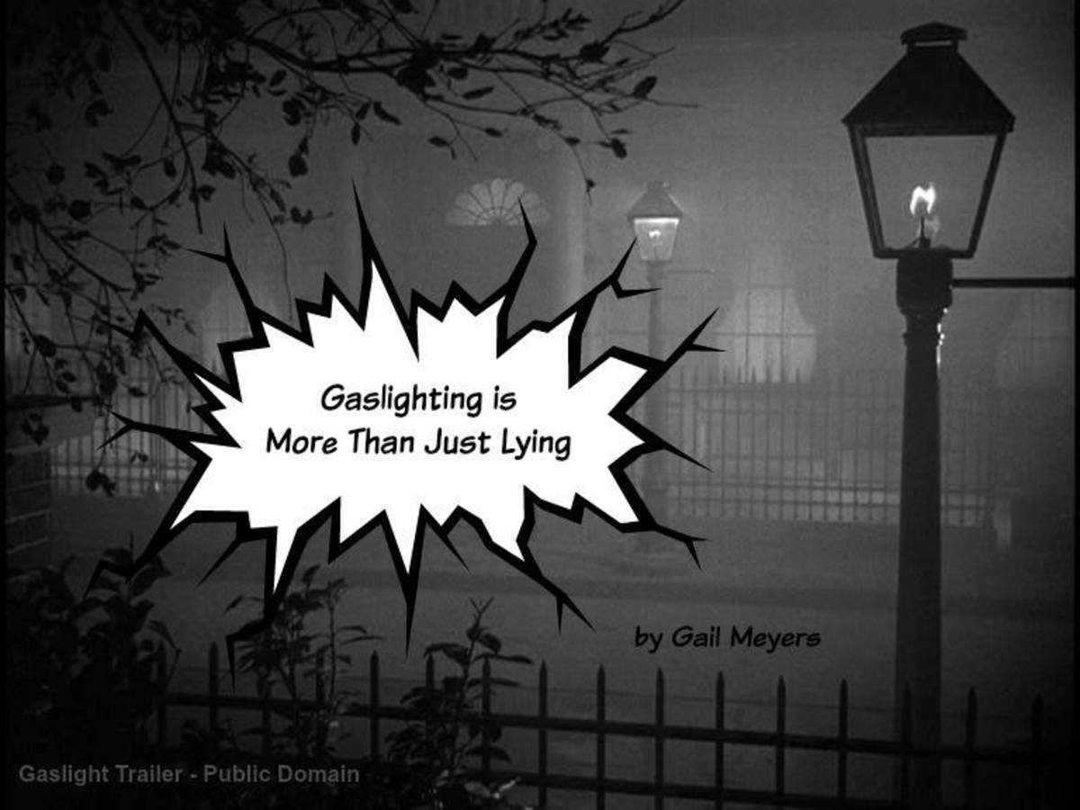 While some claim gaslighting is just another word for lying, gaslighting is much more than that. Notice the symbology of the fog.