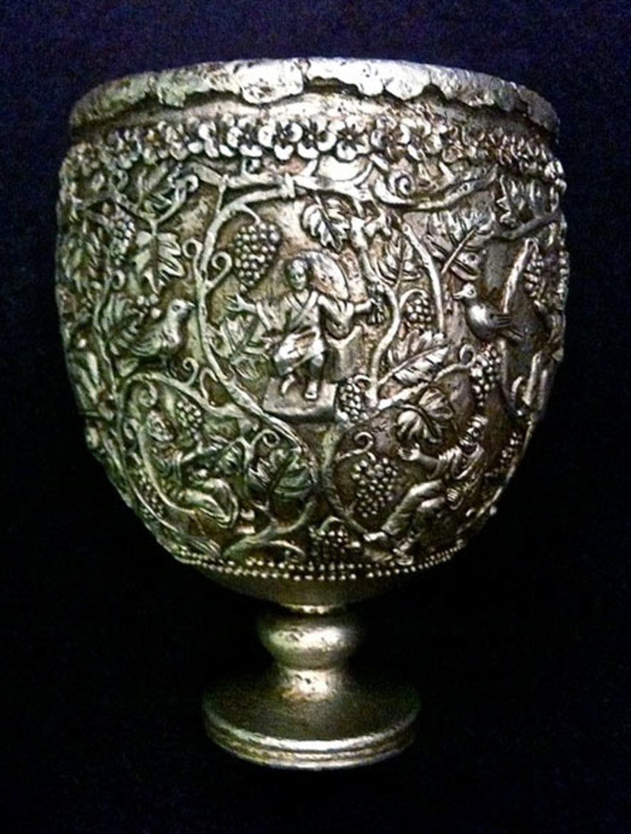 The Silver Chalice and the Holy Grail