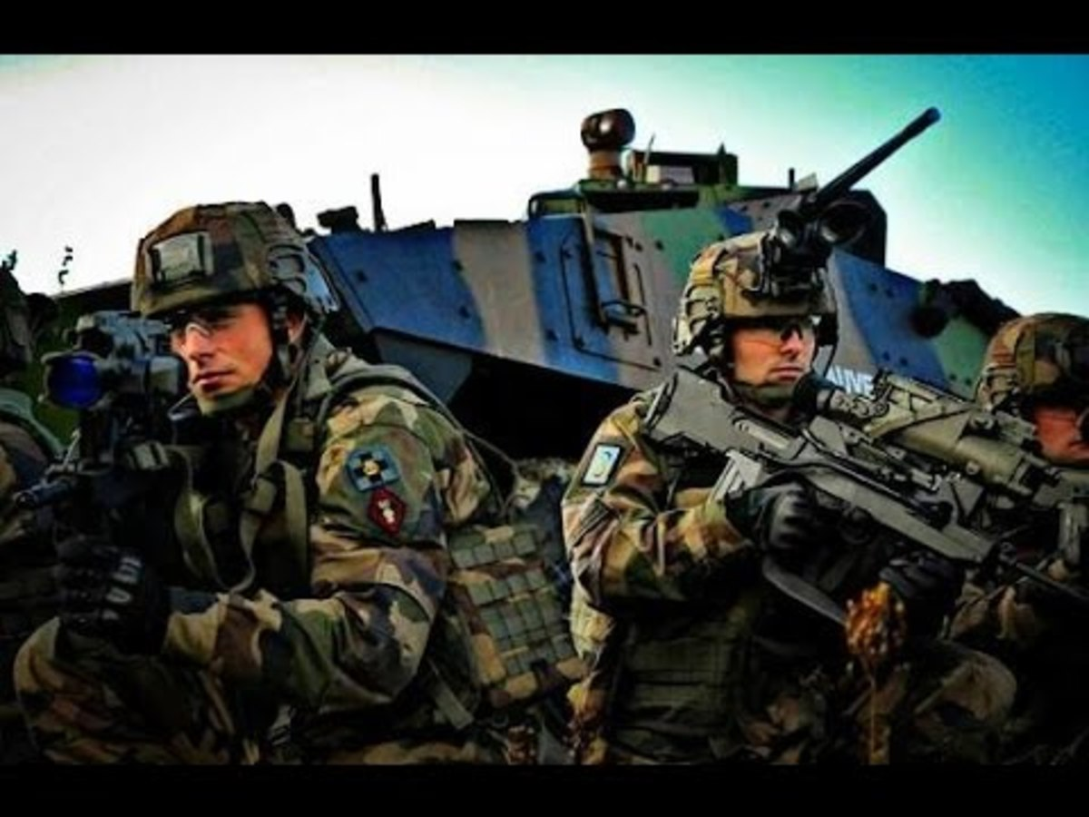 Frech Armed Forces
