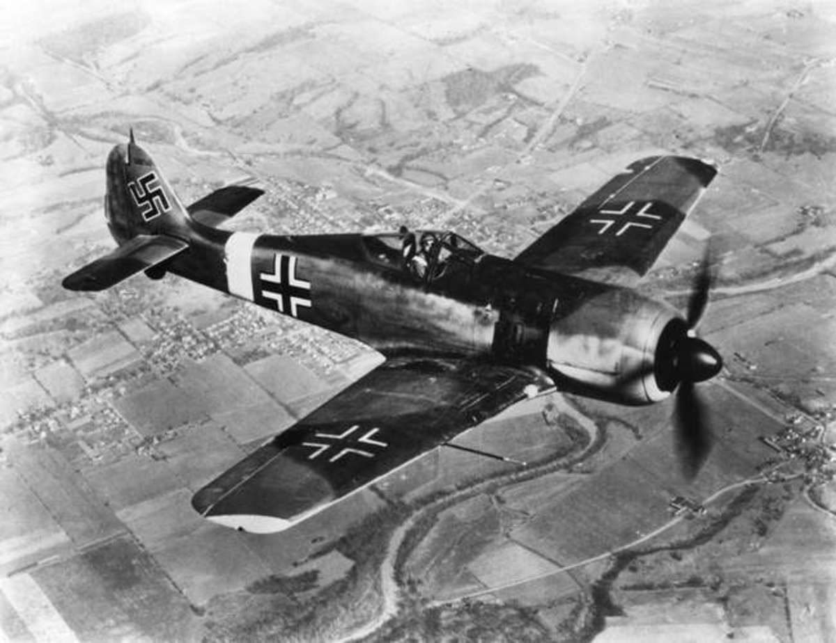 Creation of Dr. Tank. FW -190
