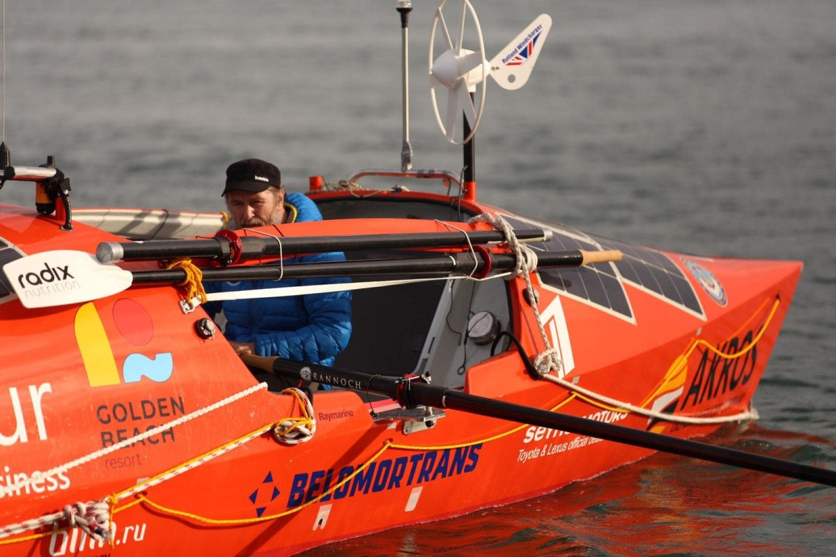Fedor Konyukhov's Solo Circumnavigation of The Southern Hemisphere on The Ocean Rowboat