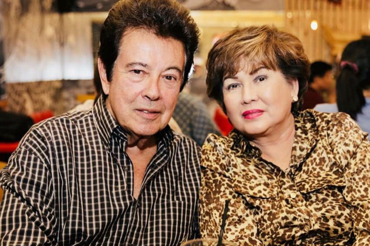 The veteran actor Eddie Gutierrez with wife Anabelle Rama. He will portray Lolo Aga, Billy's grandfather.