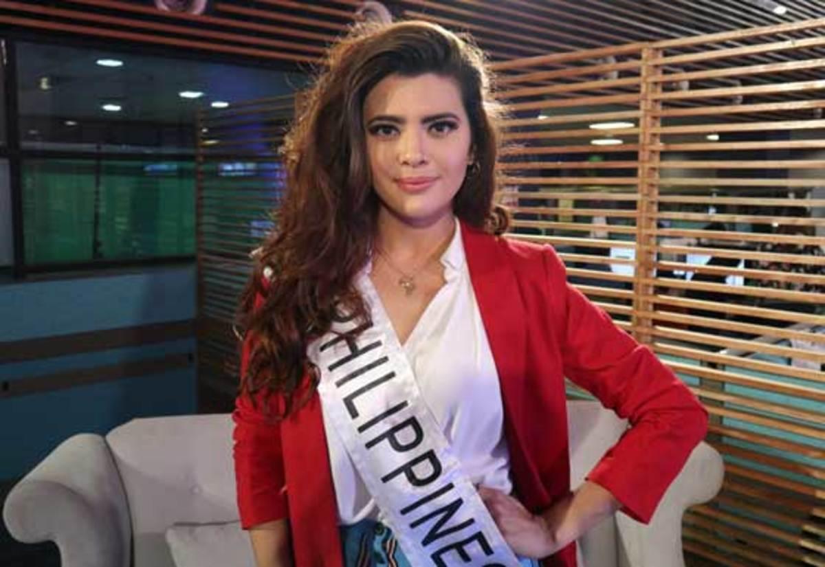 Rio Isla, Gabo's girlfriend, is 2018 Miss World Philippines Katarina Rodriguez.