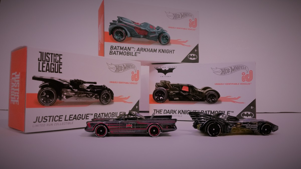 I don't love the shape of some of the modern Batmobile designs, but the Batman Mini Collection boasts a variety of special qualifiers for the mobile game races.
