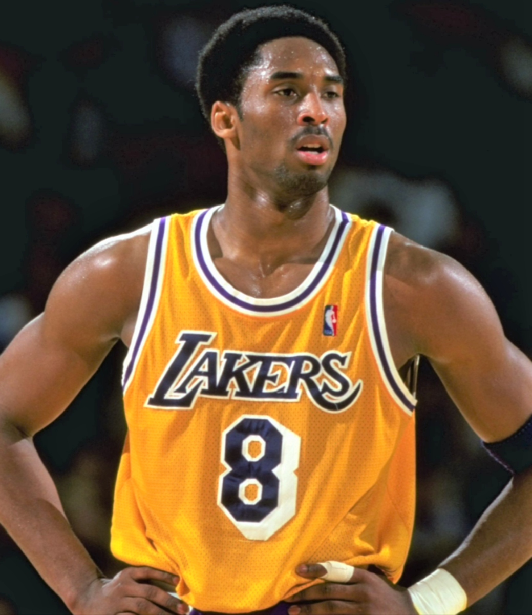 Kobe Bryant playing career with the Los Angeles Lakers was from 1996-2016