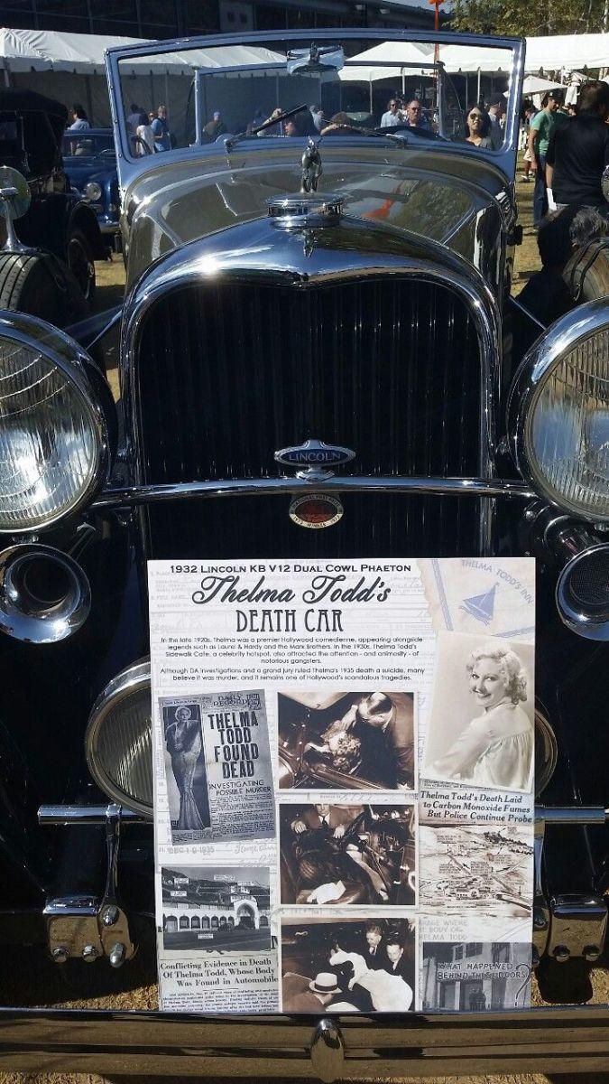Thelma's 1932 Lincoln Phantom