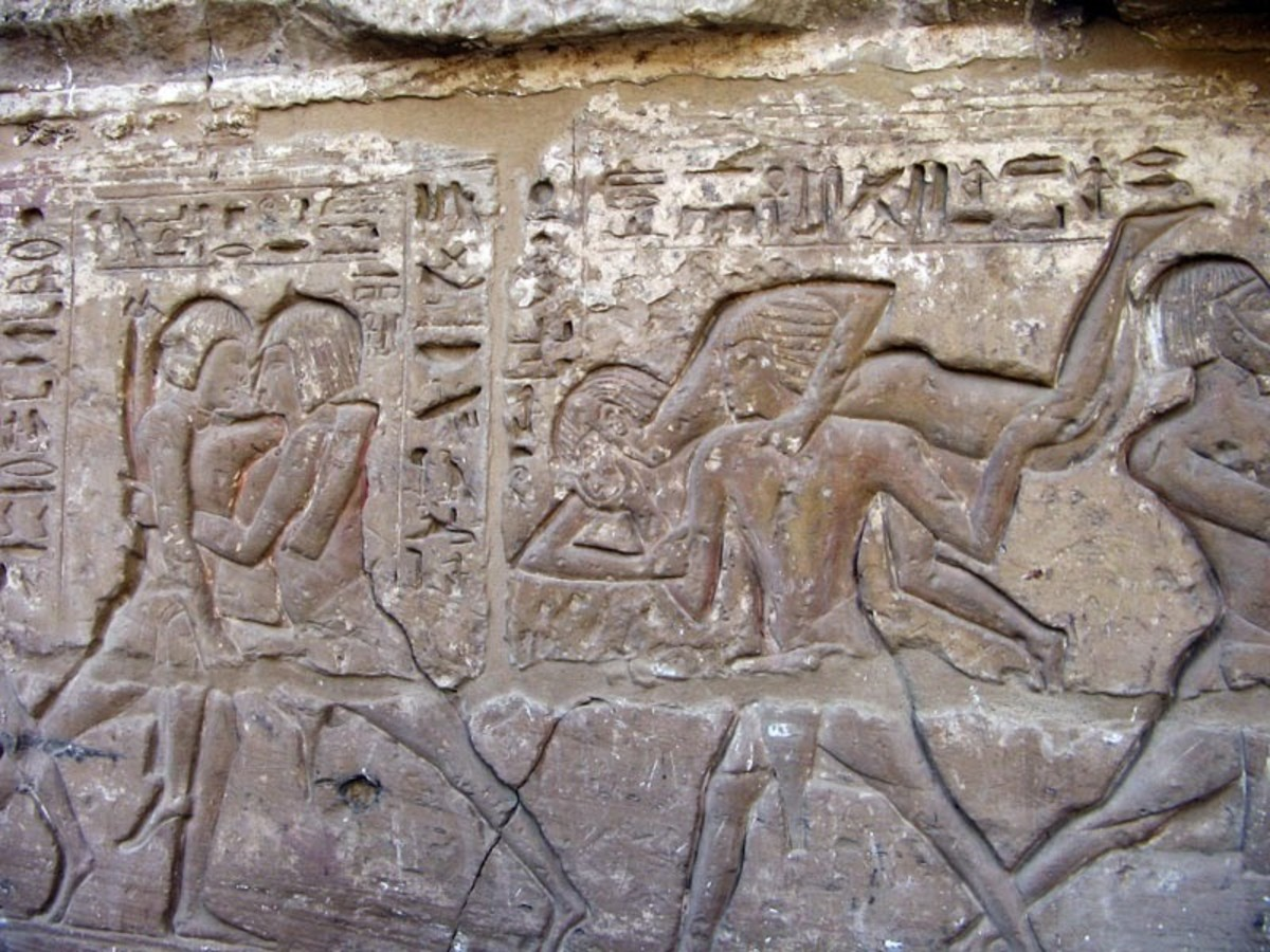 Wrestling in Ancient Egypt