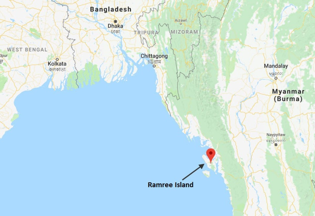 Battle for the Island of Ramree in Burma and Decimation of Hundreds of Imperial Army Troops by the Salt Water Crocodiles