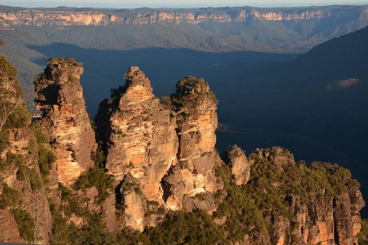 The three Sisters, Blue Mountains, NSW, Australia