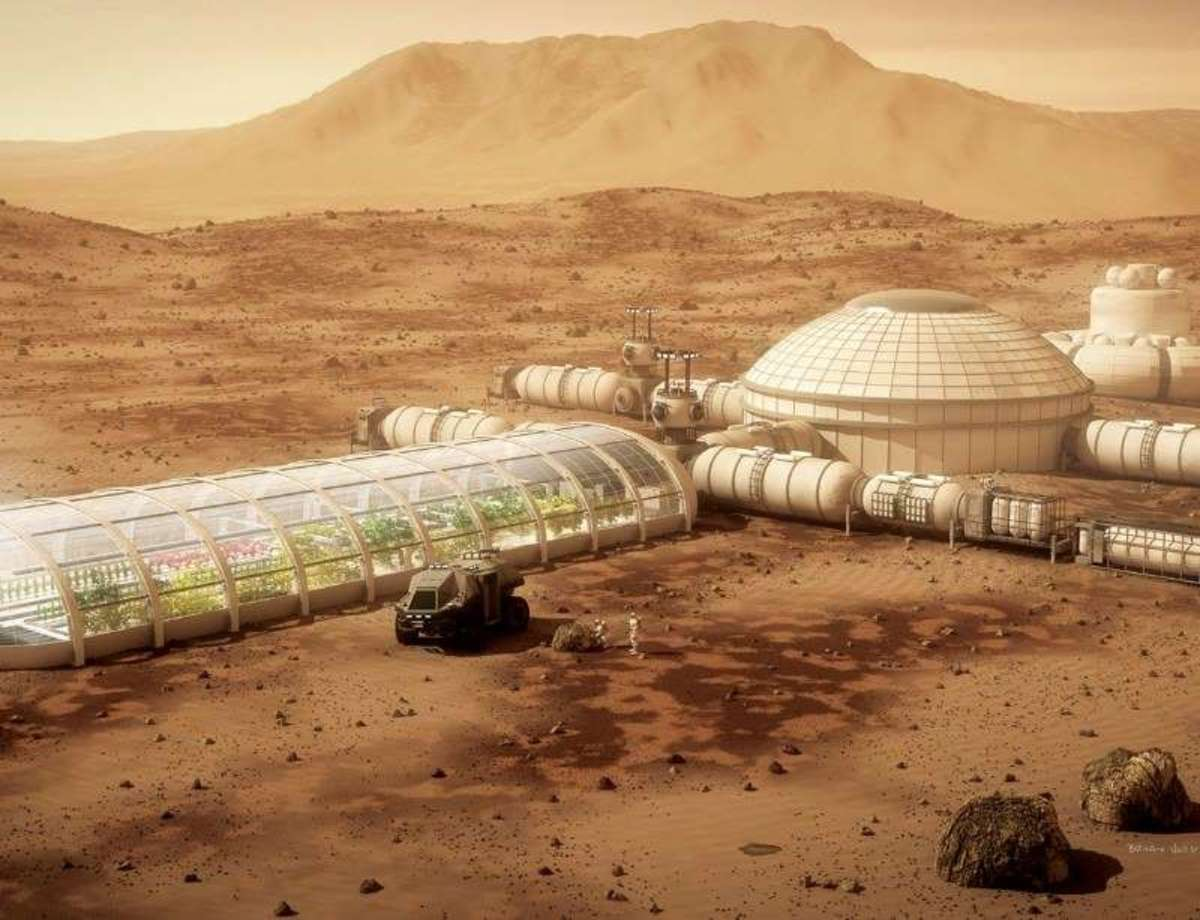 Martian Base Design