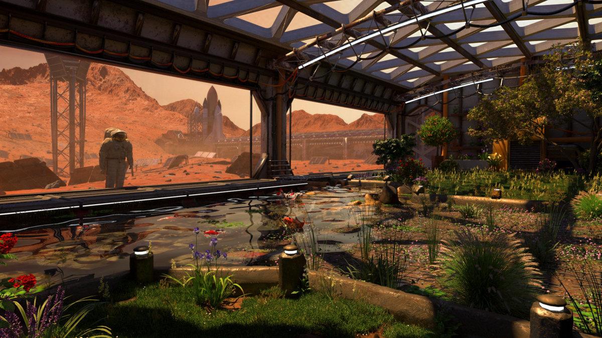 Martian Greenhouse Design