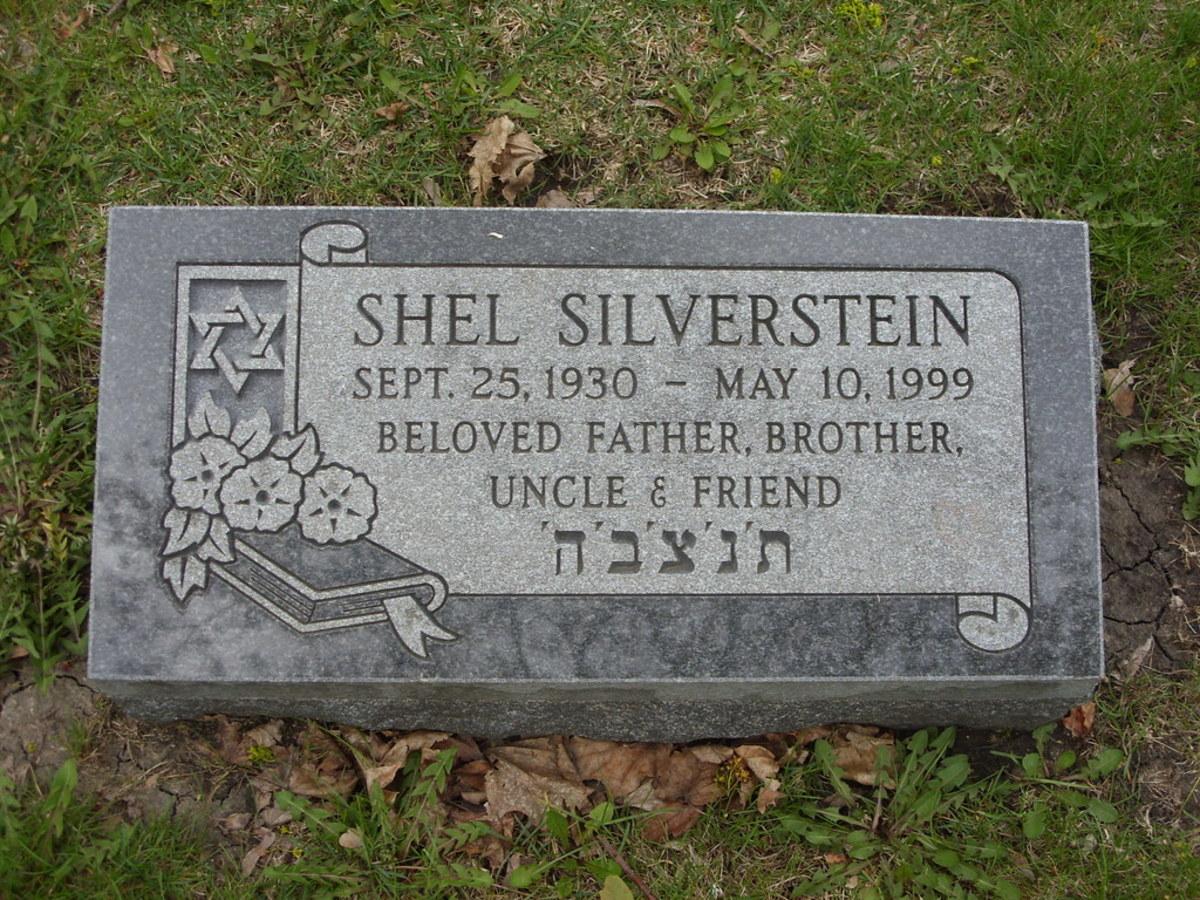 Shel Silverstein grave maker