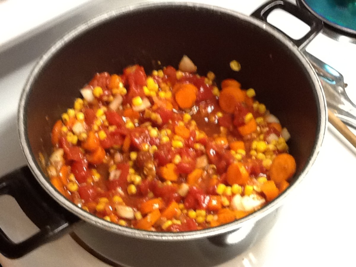 Combine all the ingredients in a big saucepan.