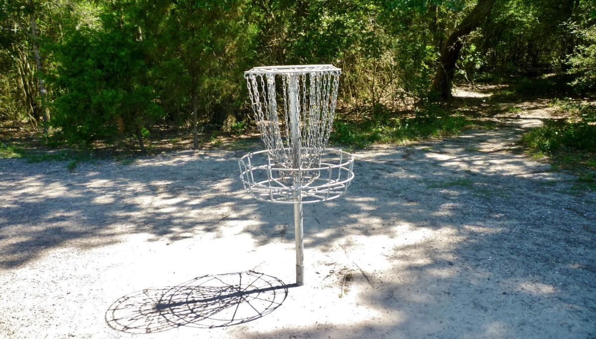 Bud Hadfield Park Disc Golf Basket