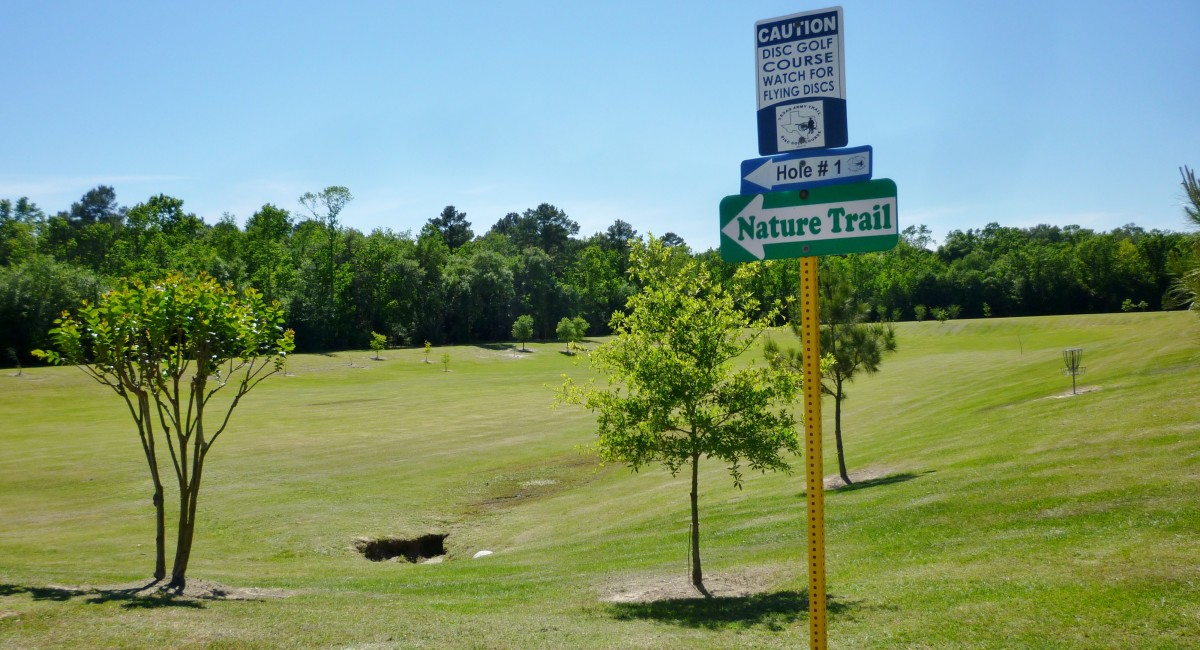 Bud Hadfield Park: Images of the Scenic Disc Golf Course in Cypress, Texas