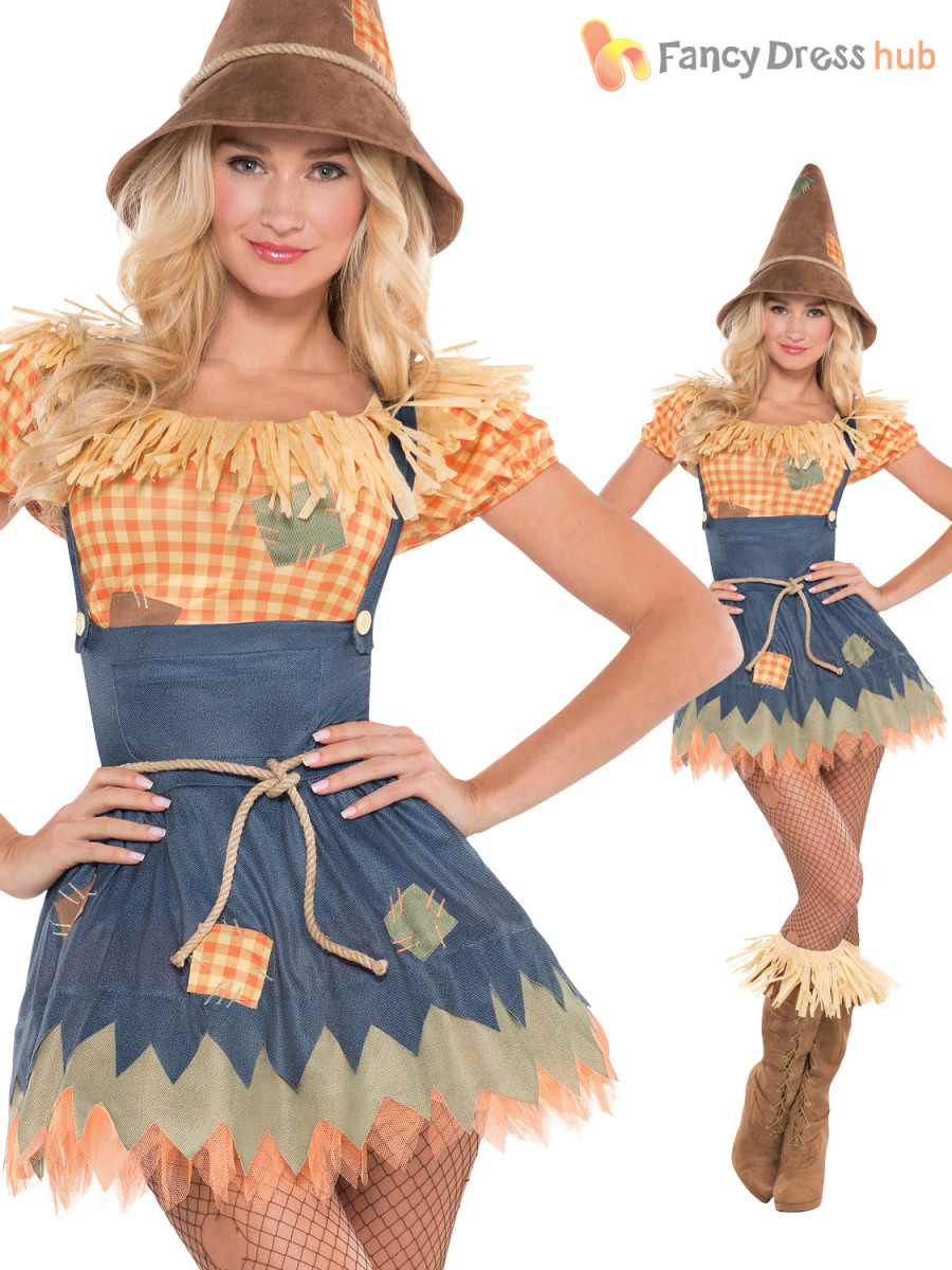 Another really cute scarecrow costume!