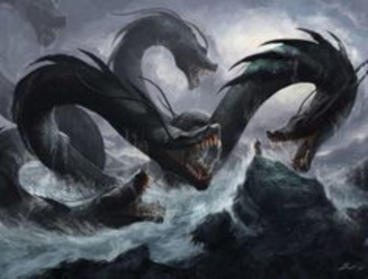 Seven Headed Sea Monster