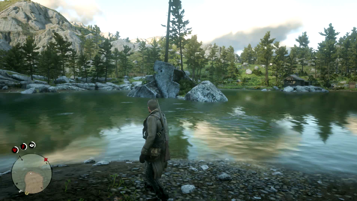 The Oasis in Red Dead Redemption 2