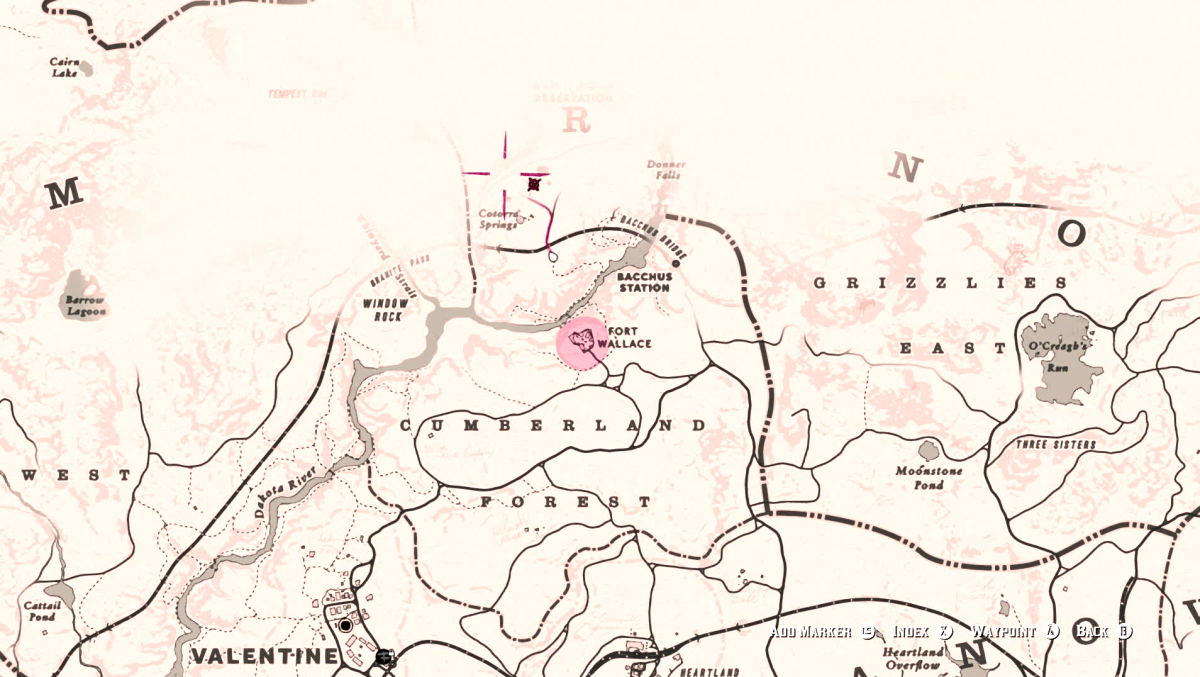Cotorra Springs in Red Dead Redemption 2