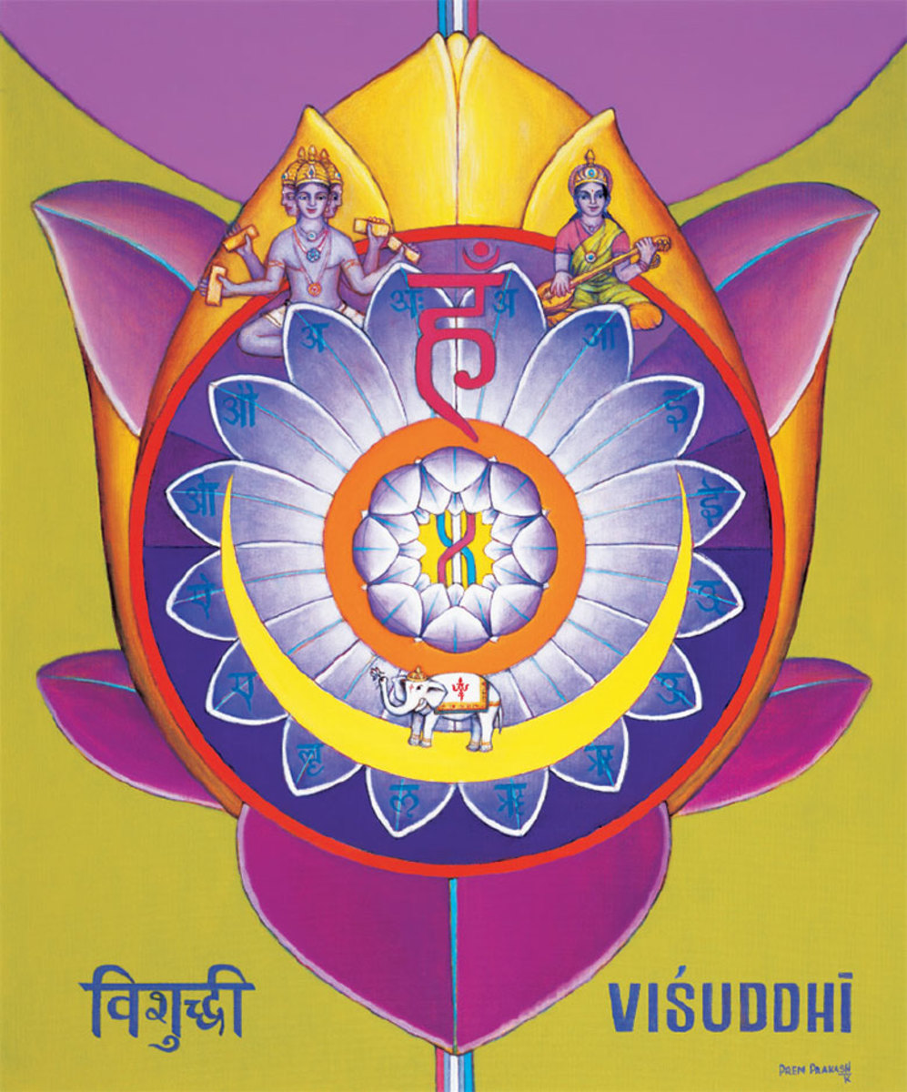 Vishuddhi Chakra, the Fountain of Youth and the Centre of Nectar
