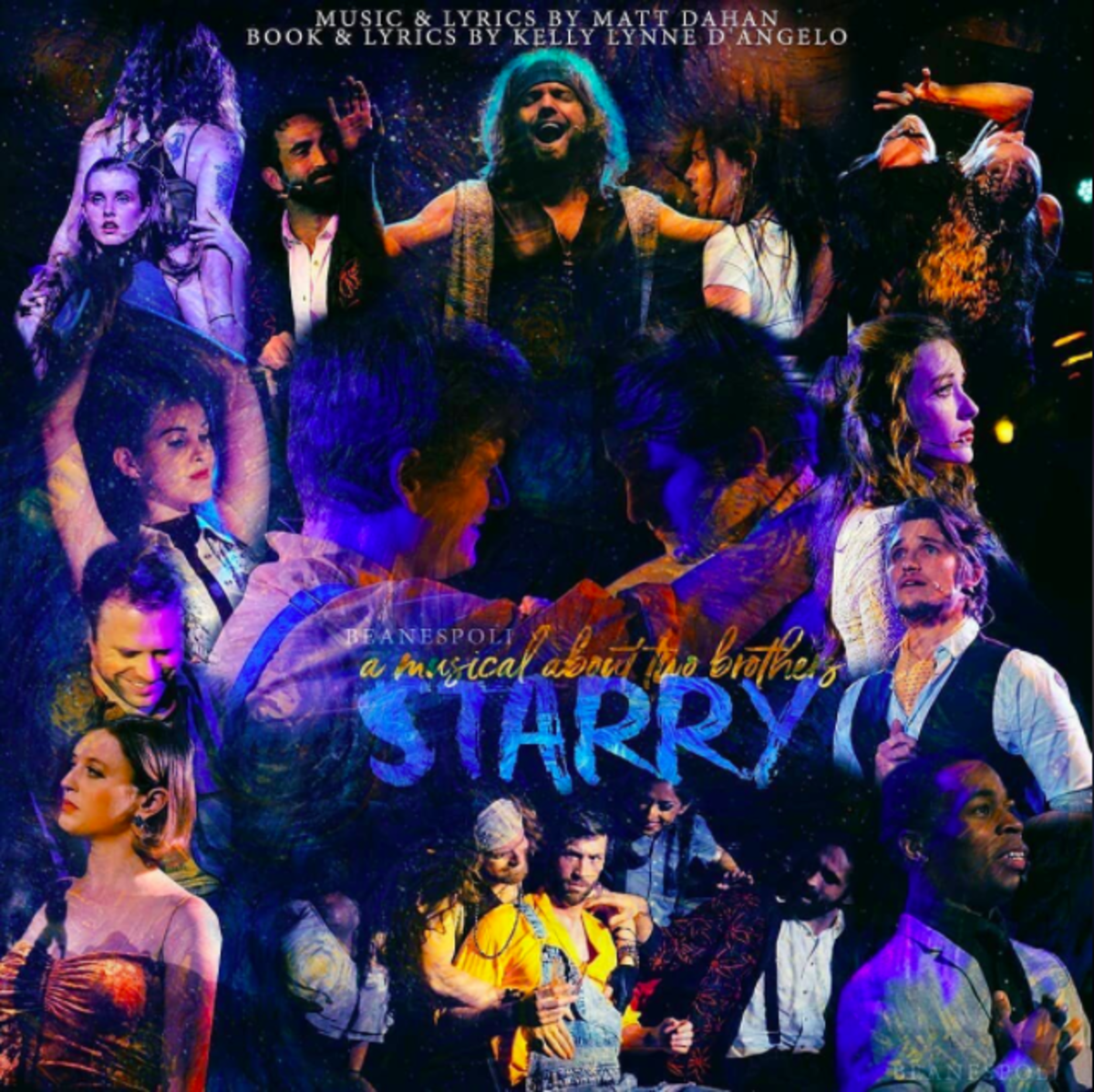 """Starry"" Concept Poster"