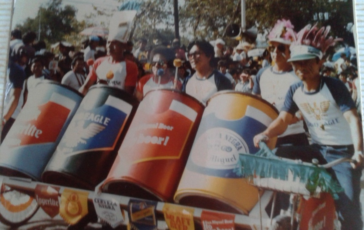 sinulog grand parade drums