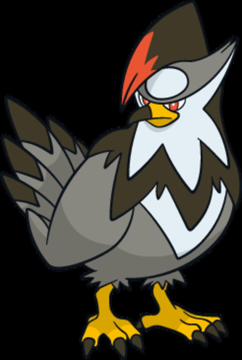 "Staraptor, the ""Predator"" Pokémon"