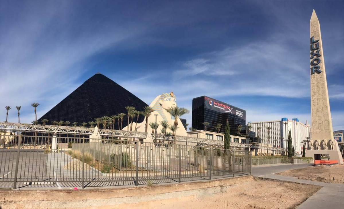Luxor Hotel, Las Vegas Nevada