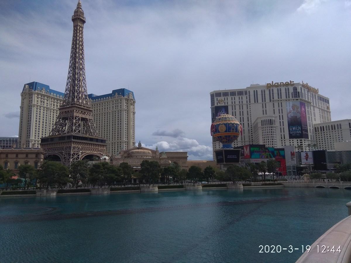 Las Vegas Eiffel Tower, Paris replica  photo captured during my my trip to this beautiful city